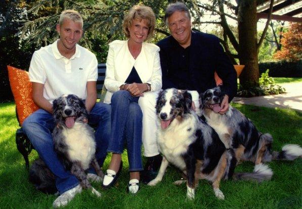 Familie Wöhrl: Sohn Markus, Dagmar & Rudolf Wöhrl