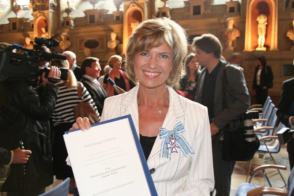 Dagmar Wöhrl, Verleihung Bayerischer Verdienstorden.
